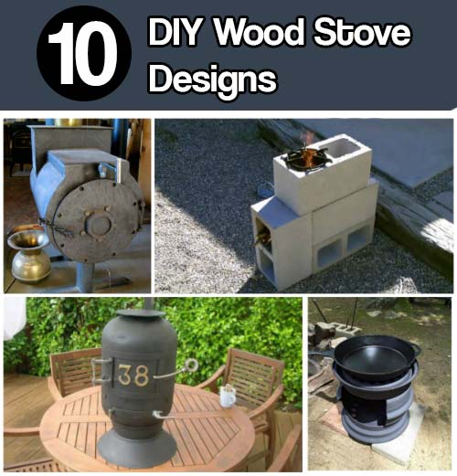 Diy Wood Stove From Food Cans