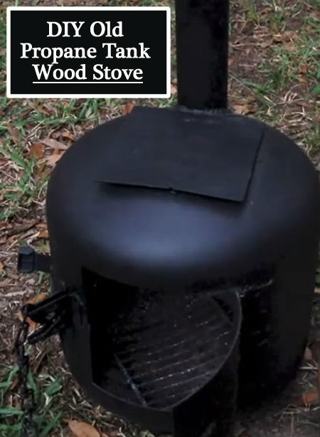 10 Diy Wood Stove Designs Page 2 Of 2 Mental Scoop