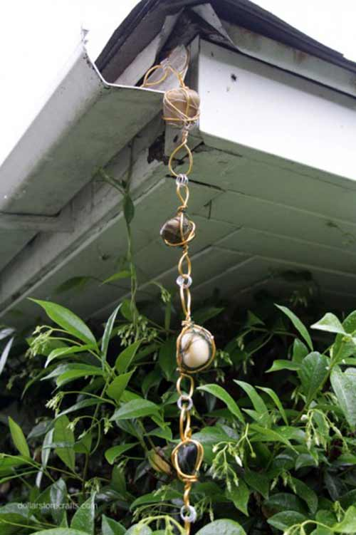 10 Diy Rain Chain Projects Mental Scoop