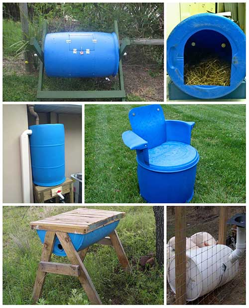 10 Impressive Things To Make With 55 Gallon Plastic Barrels Page 2